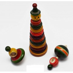 Students Do It Yourself Manual Wind Mill Educational Set
