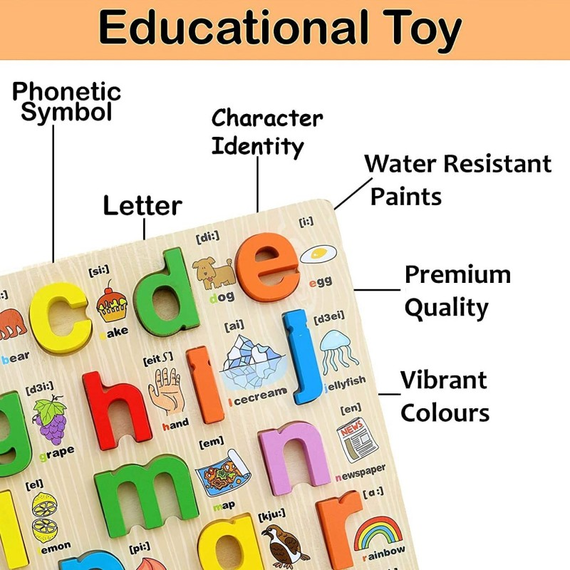 Moto-Scoot Wooden Vintage Scooter Toy