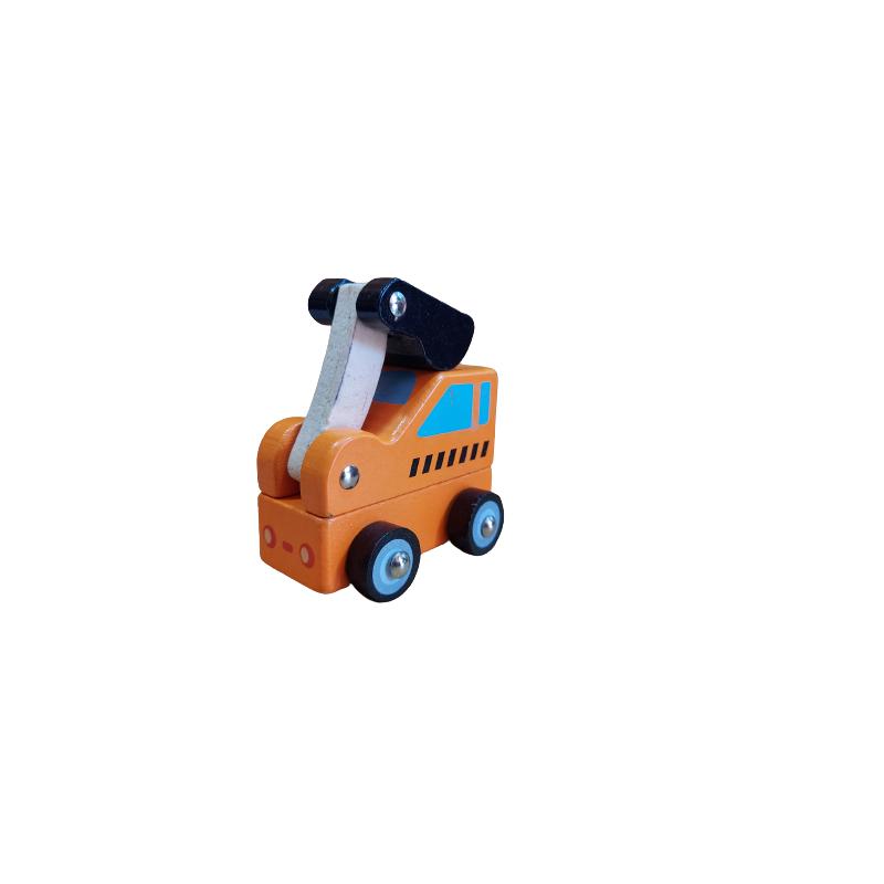 Funwood Games Wooden Decorative Bullock Cart Set for Home Décor