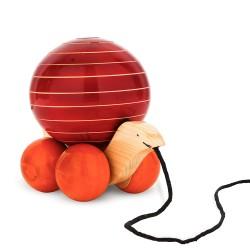Funwood Games Beer Girl Dancing Clicker Novelty Tin Toy
